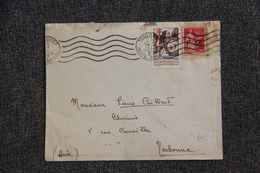 Lettre De TOULOUSE Vers NARBONNE ( Timbre En FM Et Timbre Tuberculose) - Lettres & Documents