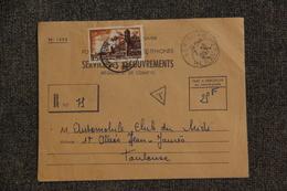 Lettre De SERIGNAN Vers TOULOUSE - Lettres & Documents