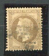 6925  FRANCE N° 30°  30c  Brun      Napoléon III   Lauré     1867     B/TB - 1863-1870 Napoléon III. Laure