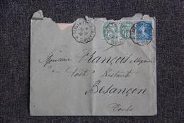 Lettre De PERSAN BEAUMONT Vers BESANCON - Lettres & Documents