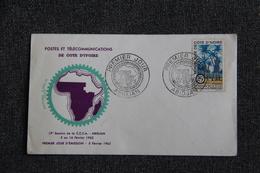 FDC - Postes Et Télécommunications De COTE D'IVOIRE - Côte D'Ivoire (1960-...)
