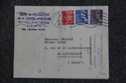 Lettre De LYON Vers ST ETIENNE - Lettres & Documents