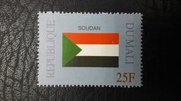 MALI 1999 ¤ FLAGS FLAG DRAPEAUX DRAPEAU ¤ SUDAN SOUDAN ¤ RARE -  MNH ** - Briefmarken