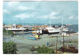Norway - Norge - Horten - Havnen - Harbour - Ship - Schiff - Boat - Ferry - Old Bus - Norvegia