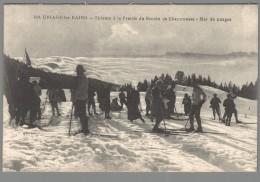 CPA 38 - Uriage - Les Bains - Skieurs à La Prairie Du Recoin De Chamrousse - Mer De Nuages - Uriage