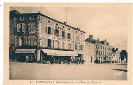 Cpa 79  Parthenay Hotel  La Maison Du Voyageur - Parthenay