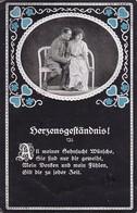 AK Deutscher Soldat Mit Frau - Herzensgeständnis - Patriotika - 1. WK (34656) - Guerre 1914-18