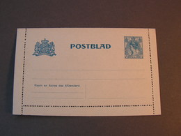 NL Postblad - Ganzsachen