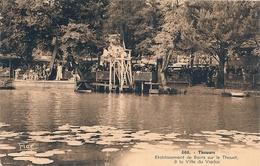 Cpa 79  Thouars Ets De Bains à La Villa Du Viaduc - Thouars