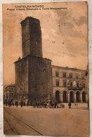 Macerata Castelraimondo Piazza Vittorio Emanuele E Torre Monumentale - Viaggiata - Macerata
