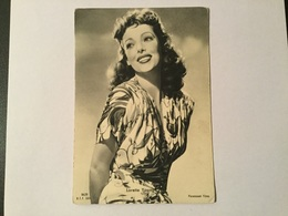 ATTRICE LORETTA YOUNG   - NV FG - Acteurs