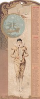 CALENDRIERS DE 1899 DU JOURNAL DES DEMOISELLES - Calendars