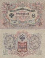Russia - 3 Rubles 1905 VF Shipov - Gavrilov Ukr-OP - Rusland