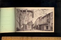 SAINT ST REMY DE PROVENCE Carnet Place Pelissier Favier Ecoles Des Filles Rue Lafayette Avenue Avignon République Thiers - Saint-Remy-de-Provence