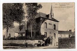 ARRADON - 56 - Morbihan - Le Départ Des Facteurs Et Du Courrier (Diligence) - Arzon
