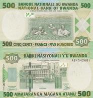 Rwanda - 500 Francs 2004 UNC Ukr-OP - Rwanda