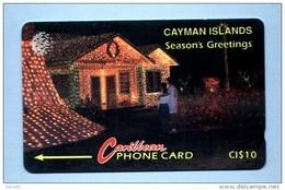 """CAYMAN: CAY-10A """"Christmas House 1994"""" 10CCIA (1994) - Cayman Islands"""
