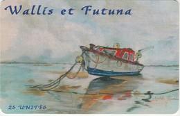TELECARTE DE WALLIS ET FUTUNA 25 UNITES DU 10/2000. - Wallis-et-Futuna