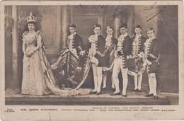 POSTCARD DENMARK - ROYALTY - ROYAL FAMILIE - QUEEN ALEXANDRA - Familles Royales