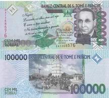 S. Tome E Principe - 100000 Dobras 2010 UNC Ukr-OP - Sao Tome And Principe