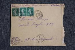 Lettre De BORDEAUX Vers PARIS - Lettres & Documents