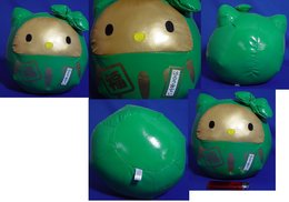Hello Kitty : Stuffed Doll : Daruma Doll - Merchandising
