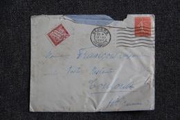 Lettre Taxée De BEZIERS Vers TOULOUSE - Lettres & Documents
