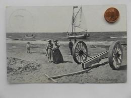 Blankenberghe, Sur La Plage, 1911 - Blankenberge