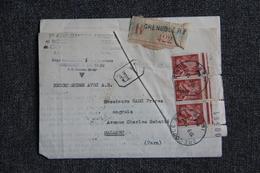 Lettre Recommandée De GRENOBLE à MAZAMET - Lettres & Documents