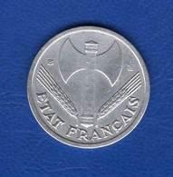 1  Fr  1943 B  Rare - France