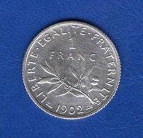 1 Fr  1902  Ttb - France