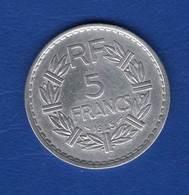5  Fr  Alu  1945 C - France