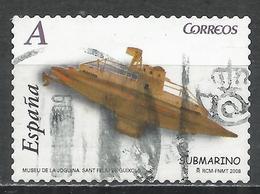 Spain 2008. Scott #3540h (U) Submarine, Toy * - 2001-10 Oblitérés
