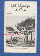 Dépliant Touristique Ancien - CLUB OLYMPIQUE De PARIS - CALVI , Corse - 1950 - Photos En Illustration - Dépliants Touristiques
