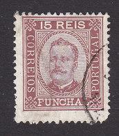 Funchal, Scott #3, Used, King Carlos, Issued 1892 - Funchal