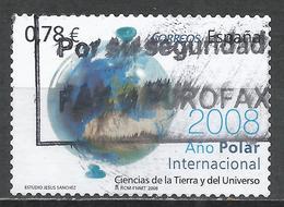 Spain 2008. Scott #3546 (U) International Polar Year * - 2001-10 Oblitérés