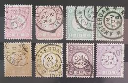 HOLLAND , Nederland 1876 , Used - Sammlungen (ohne Album)