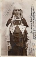 H135 - MAROC - Jeune Fille Aux Fibules En Argent - Tanger