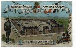 Bataillon Speyer  Kgl  Bayr2 Pionier - Militaria