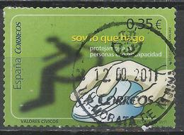 Spain 2011. Scott #3781 (U) Protect People With Disabilities * - 1931-Aujourd'hui: II. République - ....Juan Carlos I