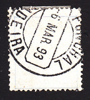 Funchal, Scott #4, Used, King Carlos, Issued 1892 - Funchal