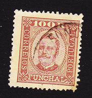 Funchal, Scott #9, Used, King Carlos, Issued 1892 - Funchal