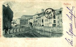 1901  TRES RARE  PADOVA RIVIERA DELLA PUNTA    Italien, ITALIA, ITALY, ITALIE CRACK SEE SCAN - Padova (Padua)