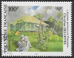 French Polynesia SG741 1995 Artists In Polynesia 100f Good/fine Used [37/30700/7D] - Used Stamps