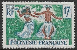 French Polynesia SG11 1960 Definitive 17f Good/fine Used [37/30701/7D] - French Polynesia