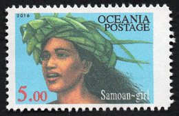 Oceania Nations Postage Samoan Girl Single. - New Zealand