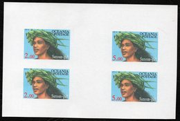 Oceania Nations Postage Samoan Girl Proof Printing. - Unclassified
