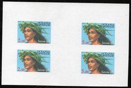Oceania Nations Postage Samoan Girl Proof Printing. - New Zealand