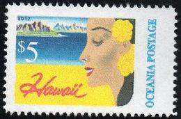 Oceania Nations Postage Hawaii Single. - New Zealand