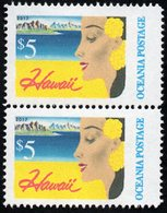 Oceania Nations Postage Hawaii Pair. - New Zealand